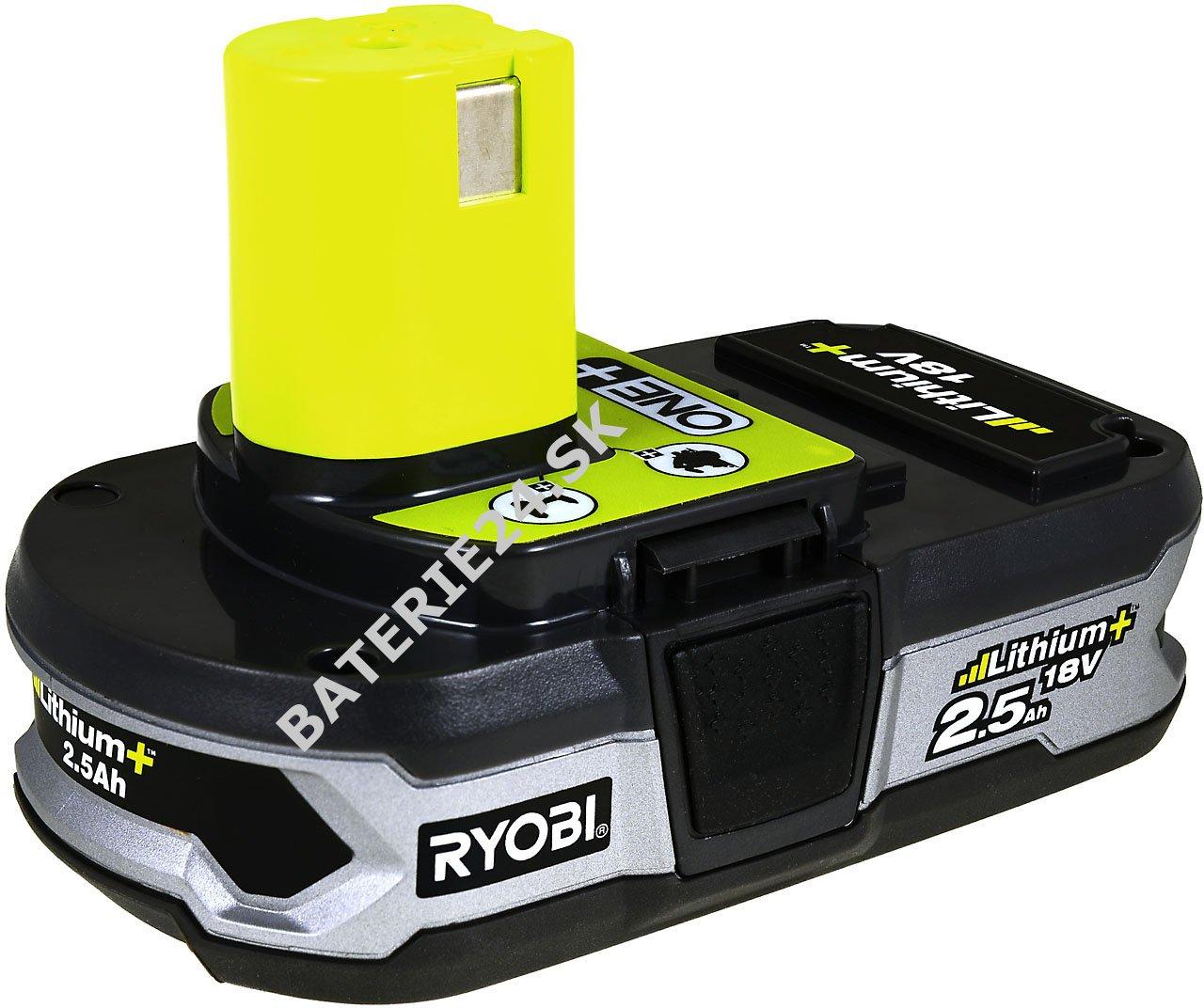 batéria pre ryobi šabľovitá píla crs-180l 2,5ah originál | baterie24.sk